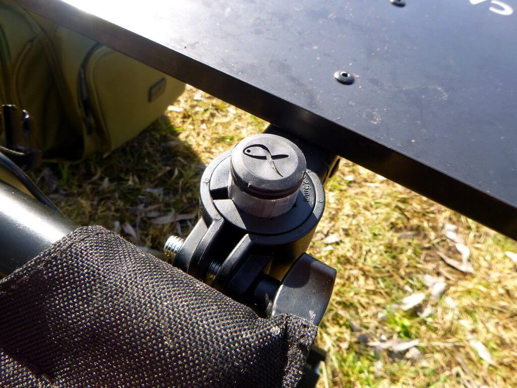 Side Tray mit D25 Adapter
