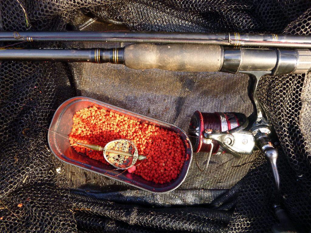 Angelausrüstung zum Brassen angeln