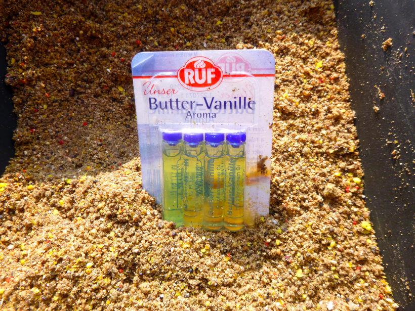 Angeln mit Butter Vanille