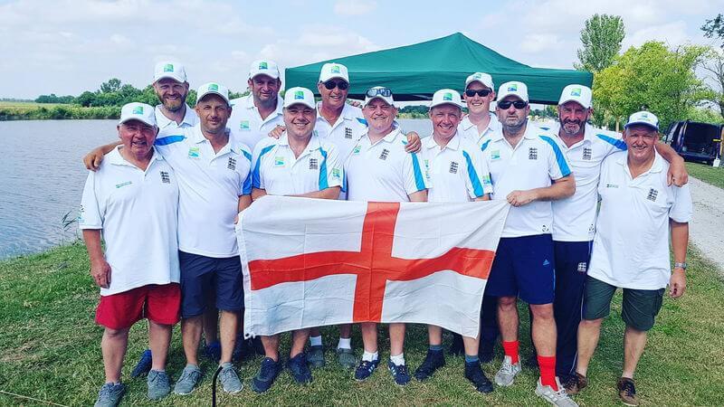 englische Angelmannschaft