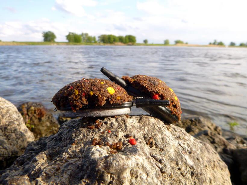 Method Feedern am Fluss