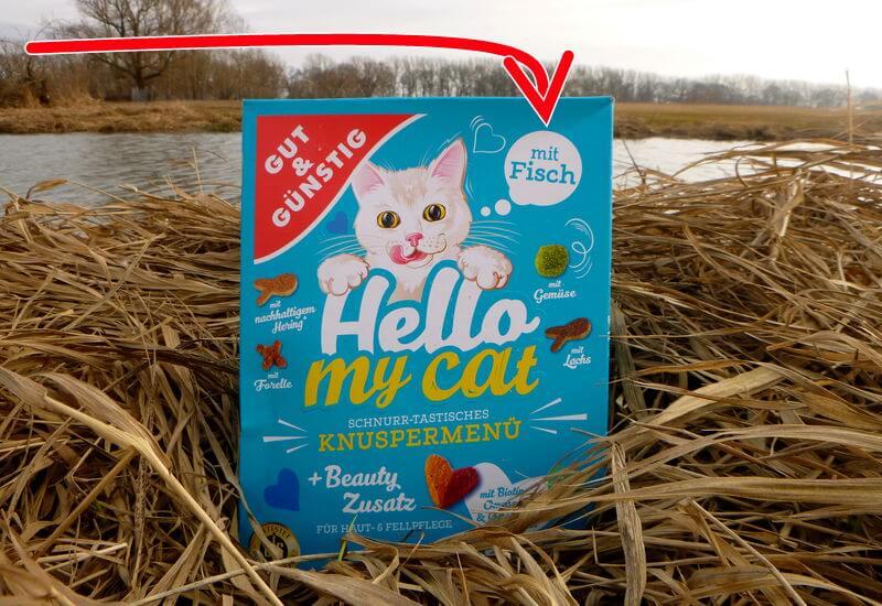trockenes Katzenfutter als Ersatz für das Fischmehl im Method Mix