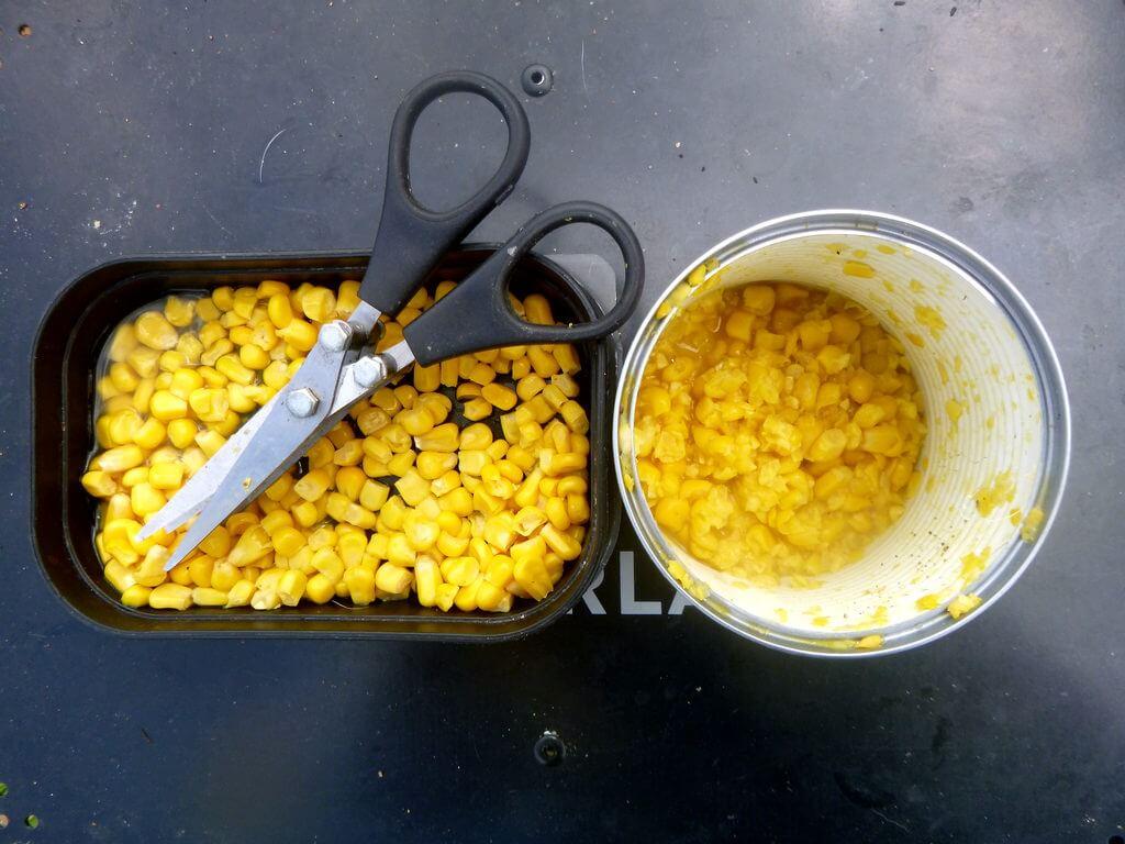 geschnittener Mais